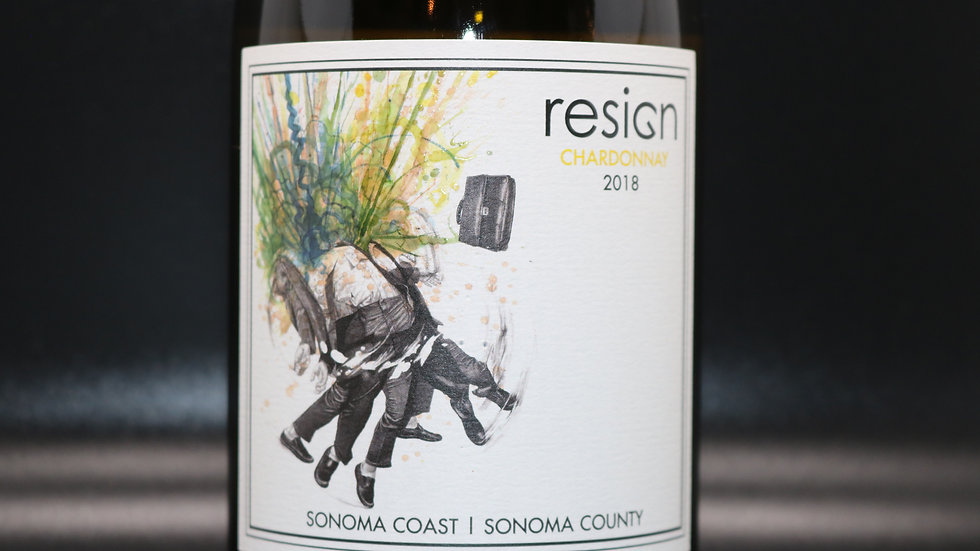 "Resign, ""John's"" Chardonnay, Sonoma Coast, 2018"