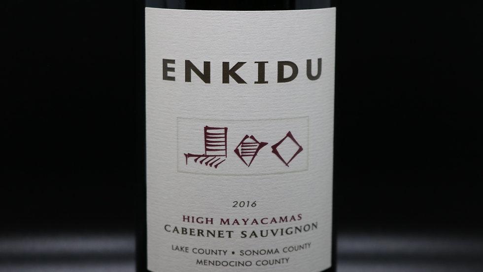 Enkidu, High Mayacamas Cabernet Sauvignon, Sonoma County, 2016
