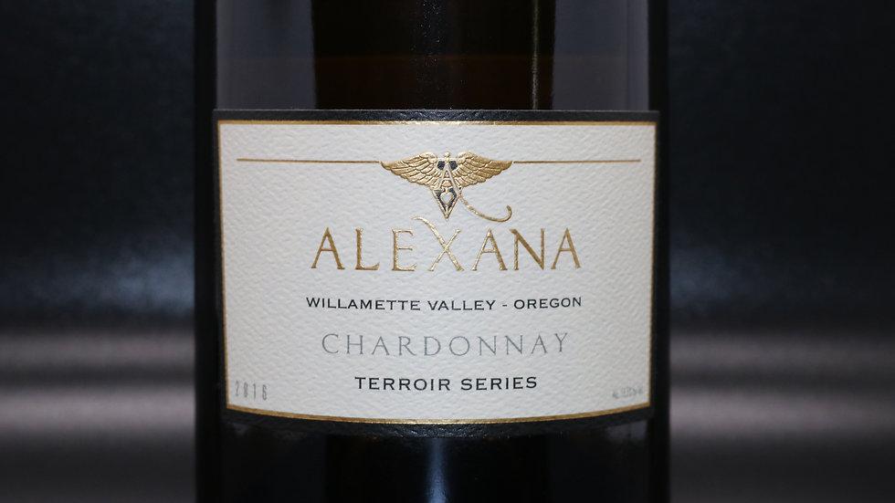 Alexana, Terror Series Chardonnay, Willamette Valley Oregon, 2018