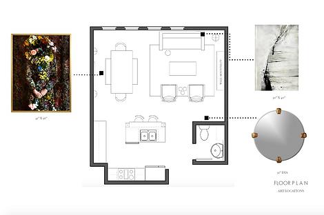 Aquilo Interiors _ E-Design Floor Plan