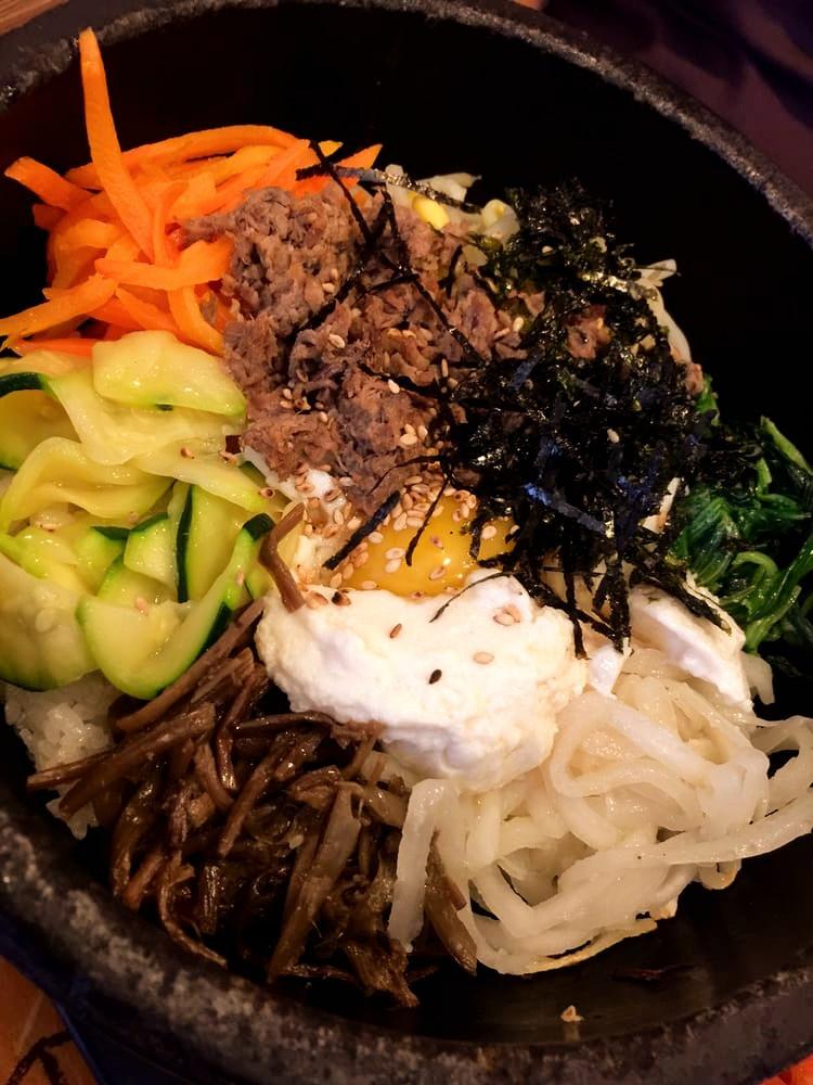 bimbim naengmyun cold noodle spicy sauce