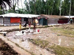 Shelter for Rohingyans Refugees