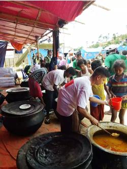 Food Distribution For Rohingya
