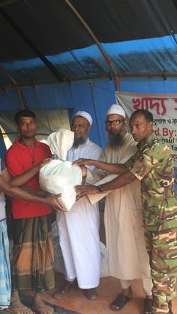 Donating to Rohingan Refugees