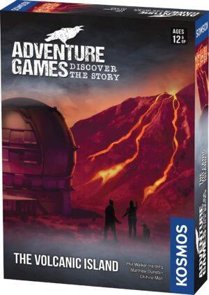 Adventure Games The Volcanic Island
