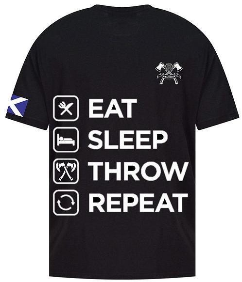 Eat, Sleep, Throw, Repeat T-Shirt