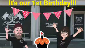 It's our 1st Birthday soon, celebrate with us.