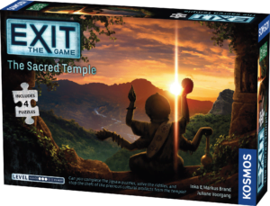 EXIT The Sacred Temple (with jigsaws)