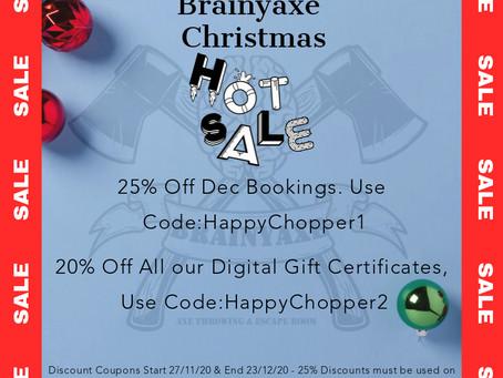 Christmas Sale...