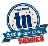 Readers Choice WINNER social media logo.