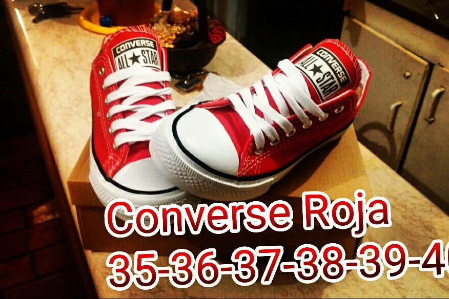 converse roja 35