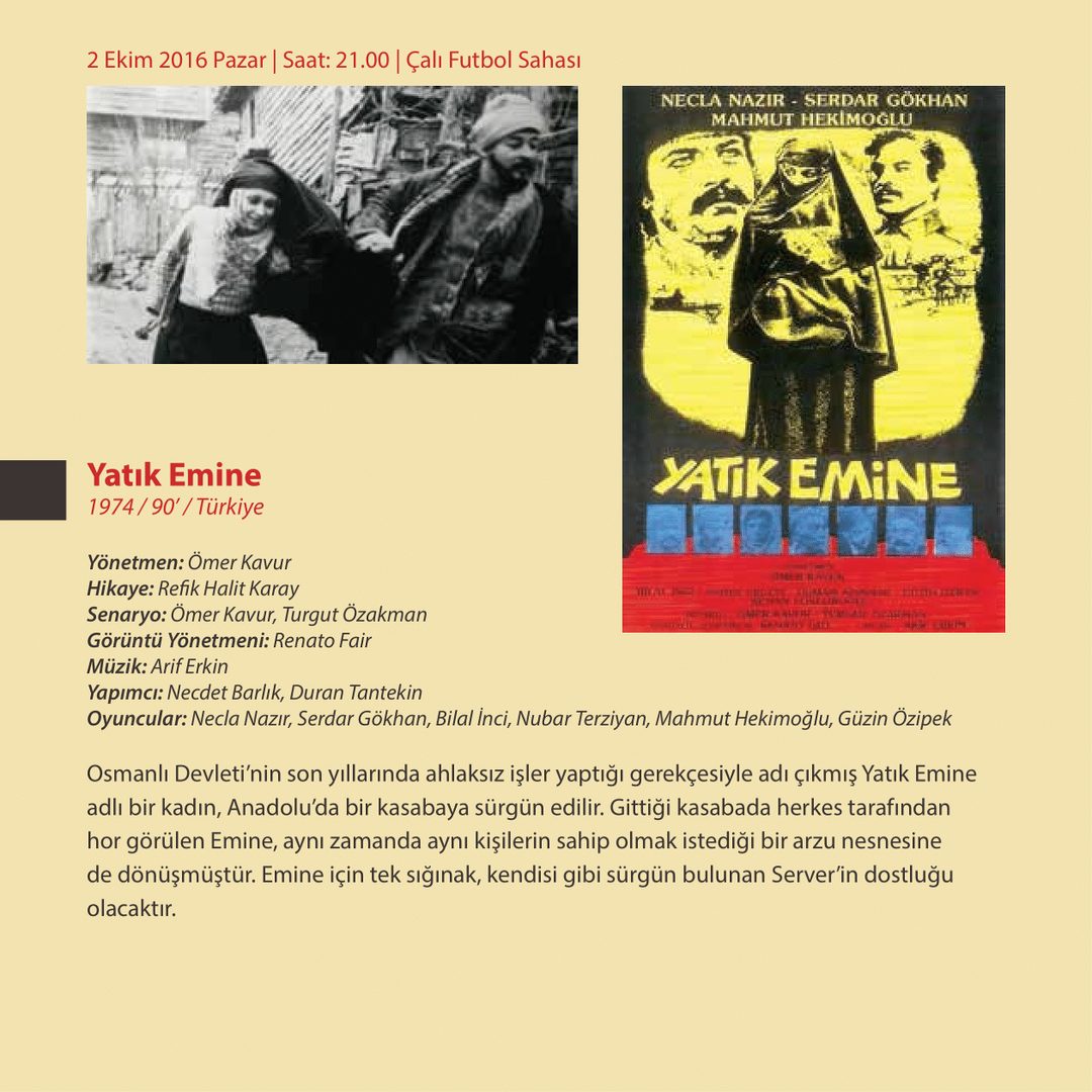 1.Çalı Köy Filmleri Festivali Kitapçığı