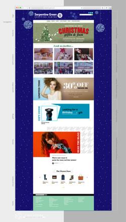 Serpentine Green website UI makeover