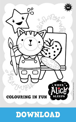 Joy Colouring Sheet