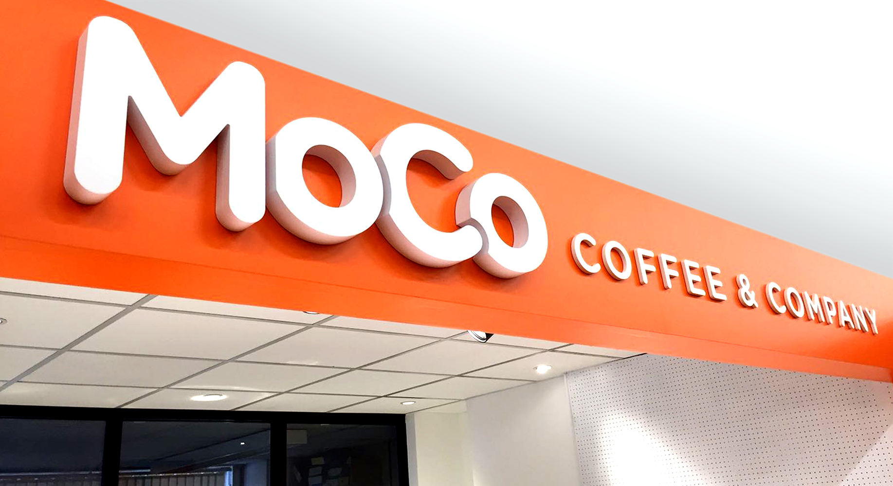MoCo Coffee & Company kiosk