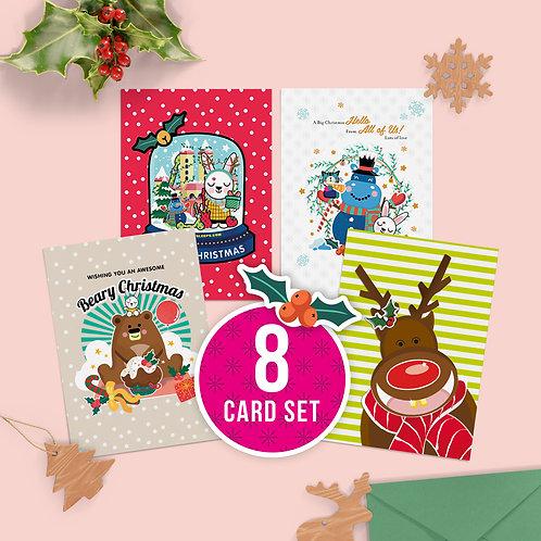 Christmas Mixed Card Sets