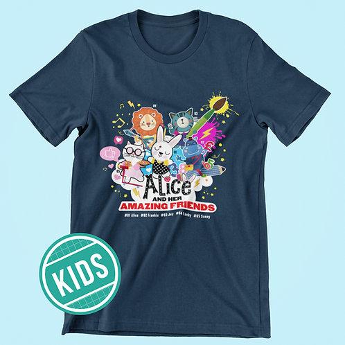 ALICE'S AMAZING FRIENDS Kids T-shirt
