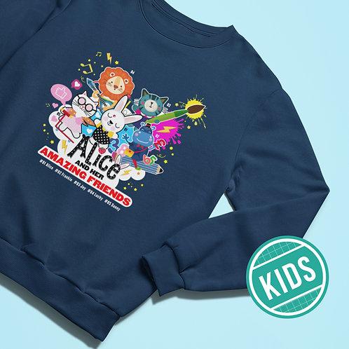 AMAZING FRIENDS Sweatshirt
