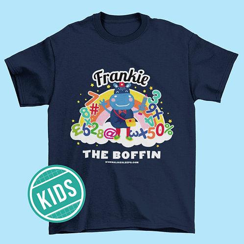 FRANKIE the Boffin Kids T-shirt