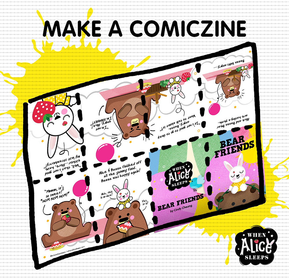 Download our FREE Bear Friends Comiczine
