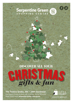 Serpentine Green Christmas marketing