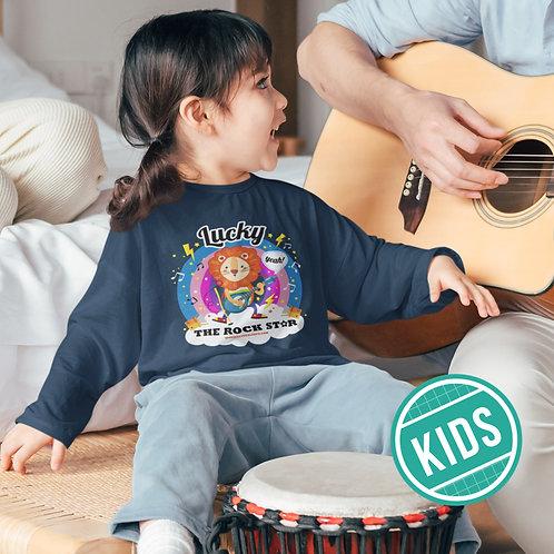 LUCKY the Rock Star Sweatshirt