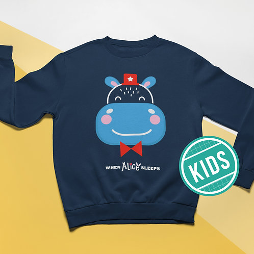 FRANKIE the Hippo Sweatshirt