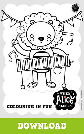 Lucky Colouring Sheet