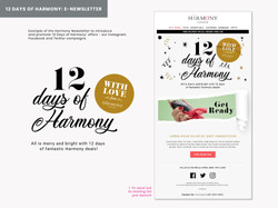 Harmony London Christmas campaign