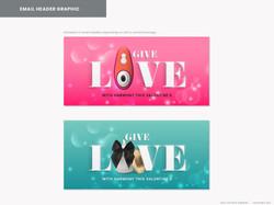 Harmony London Valentine's 2021 campaign