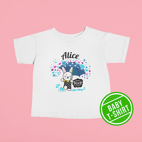 HELLO ALICE Baby T-shirt