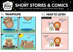 When Alice Sleeps Short Stories and Comics
