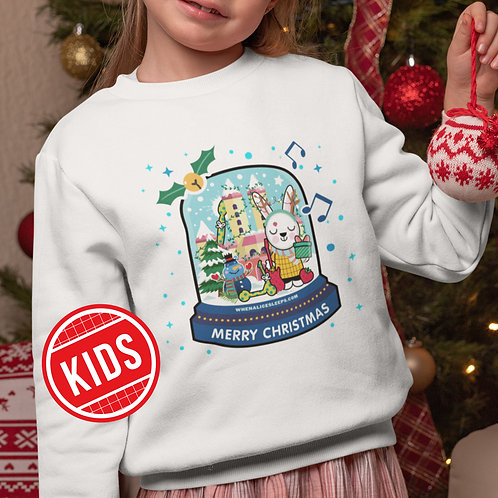 FESTIVE ALICE Christmas Sweater