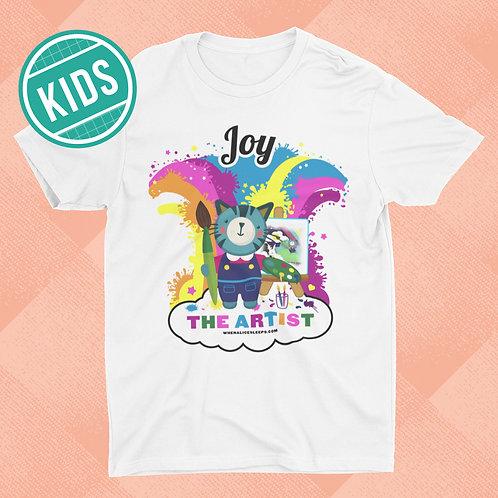 JOY the Artist Kids T-shirt