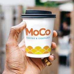 MoCo Coffee & Company branding