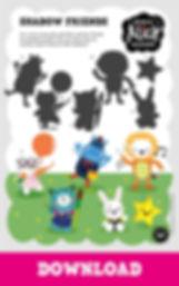 Shadow Friends Activity Sheet