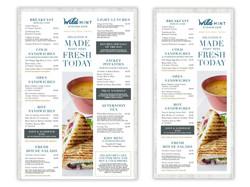 Wild Mint Kitchen Cafe menus
