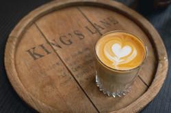 King's Lane Coffee Company branding