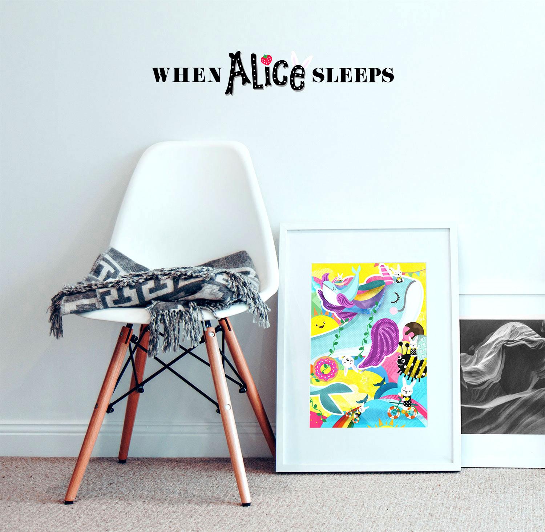 When Alice Sleeps