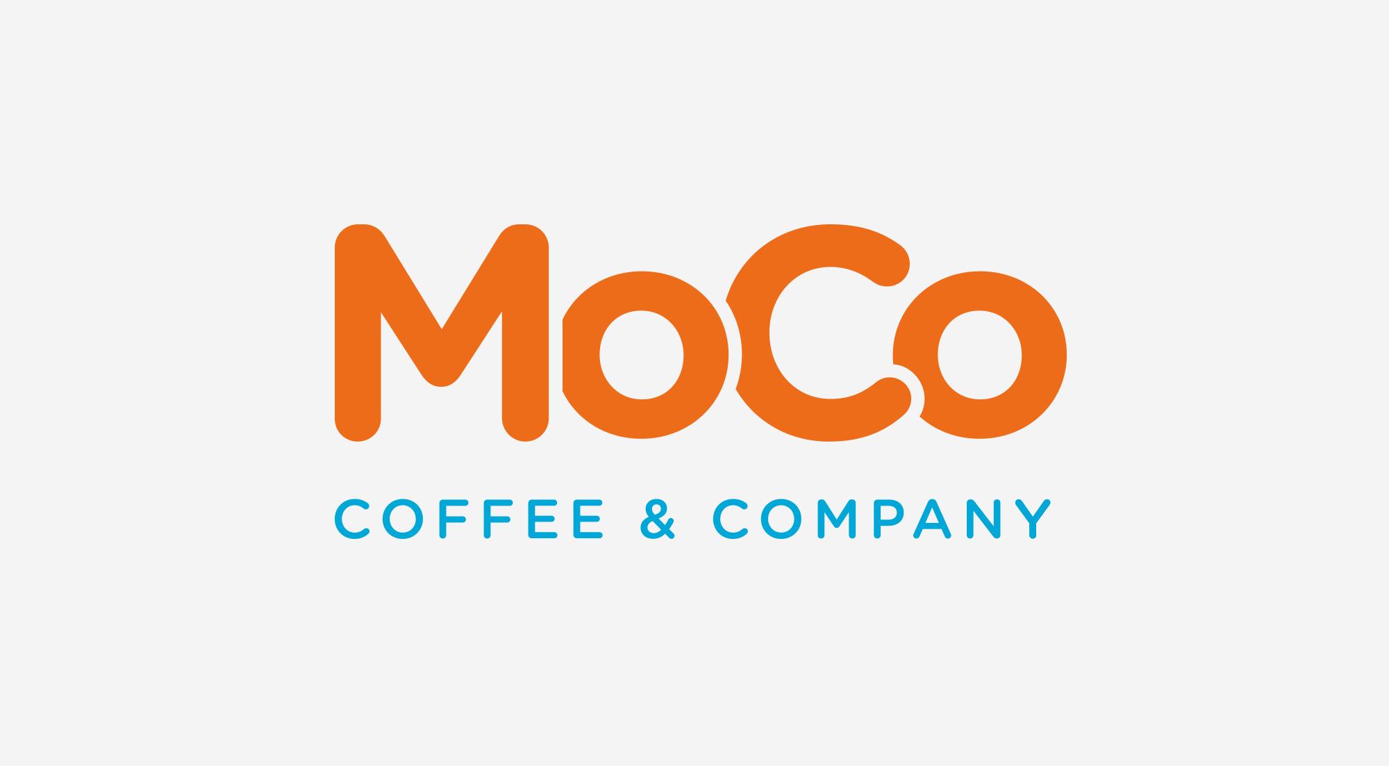 MoCo Coffee & Company brand ID