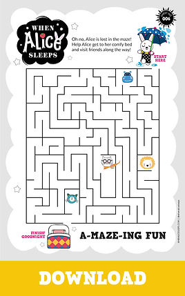 A-maze-ing Fun Activity Sheet