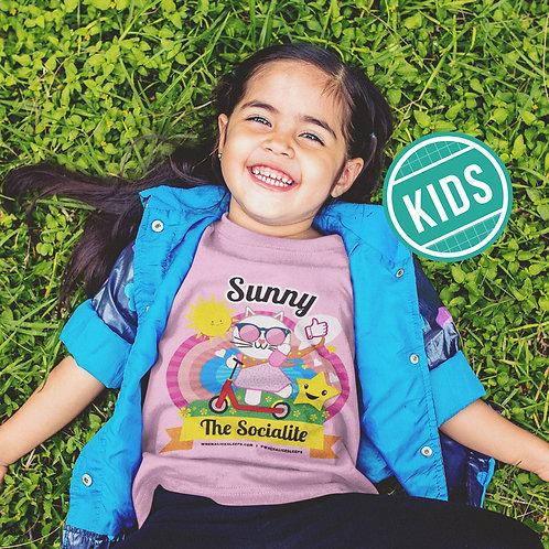 SUNNY the Socialite Kids T-shirt