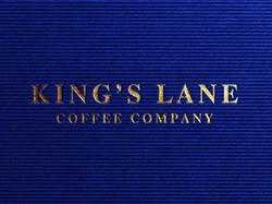 King's Lane Coffee Company logo design