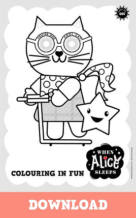 Sunny Colouring Sheet