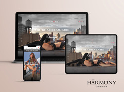 Harmony London brand new website