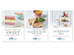 Mint Kitchen Cafe branding