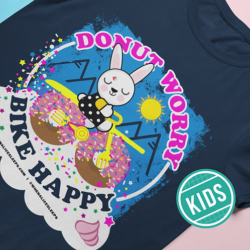 BIKE HAPPY Kids T-shirt