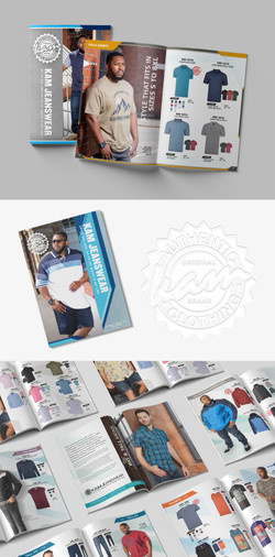 Kam Jeans product catalogue design