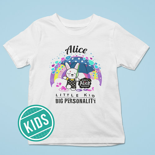ALICE Big Personality Kids T-shirt