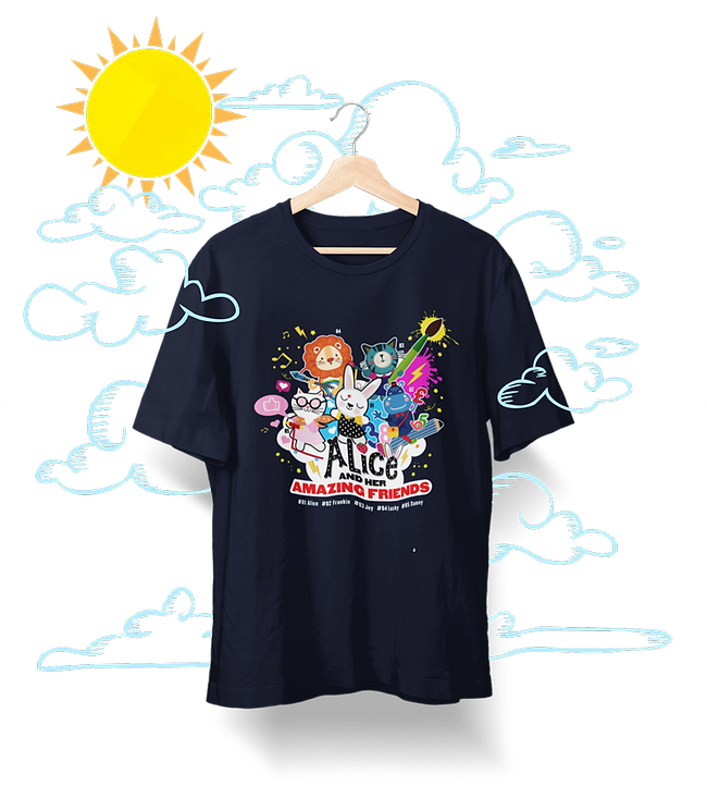 was-amazing-friends-kids-t-shirt-hanging